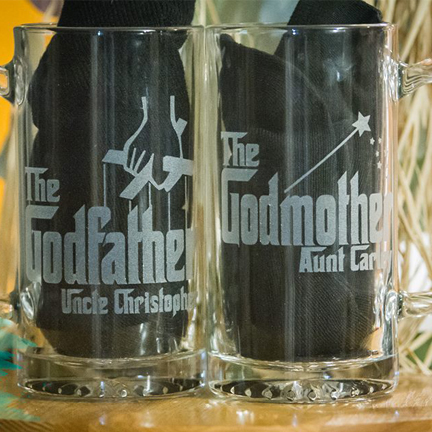 Laser Etched Glass