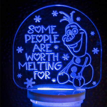 Personalized Laser Etched Night Lights