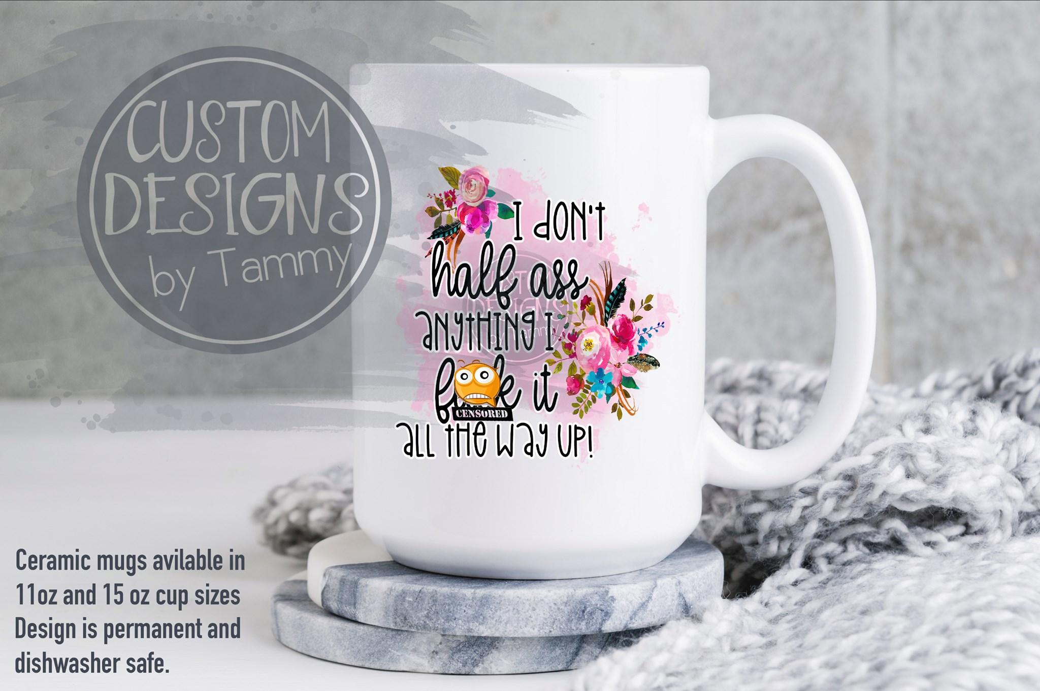 Personalized mugs grandma theme