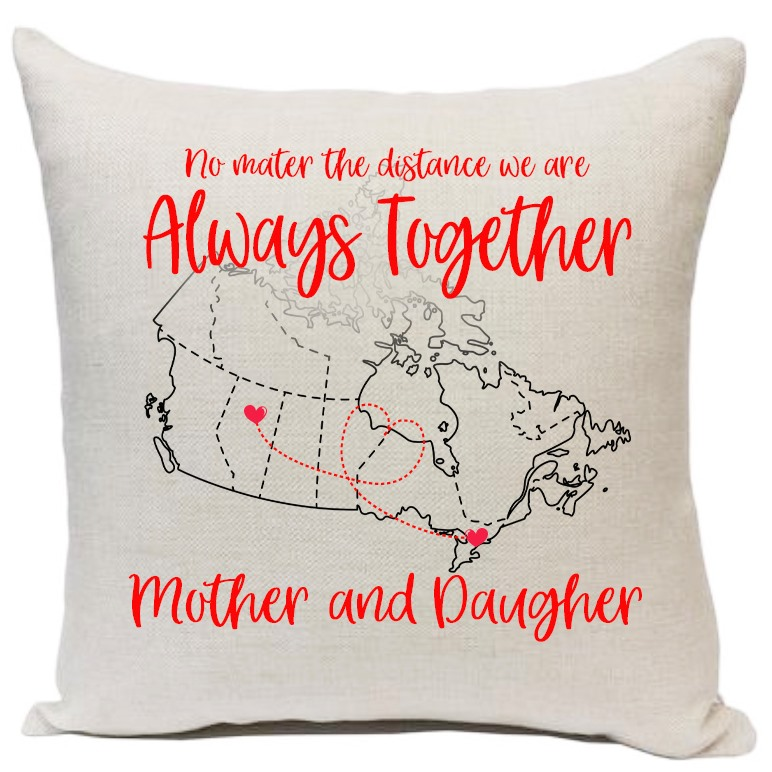 Always together pillow