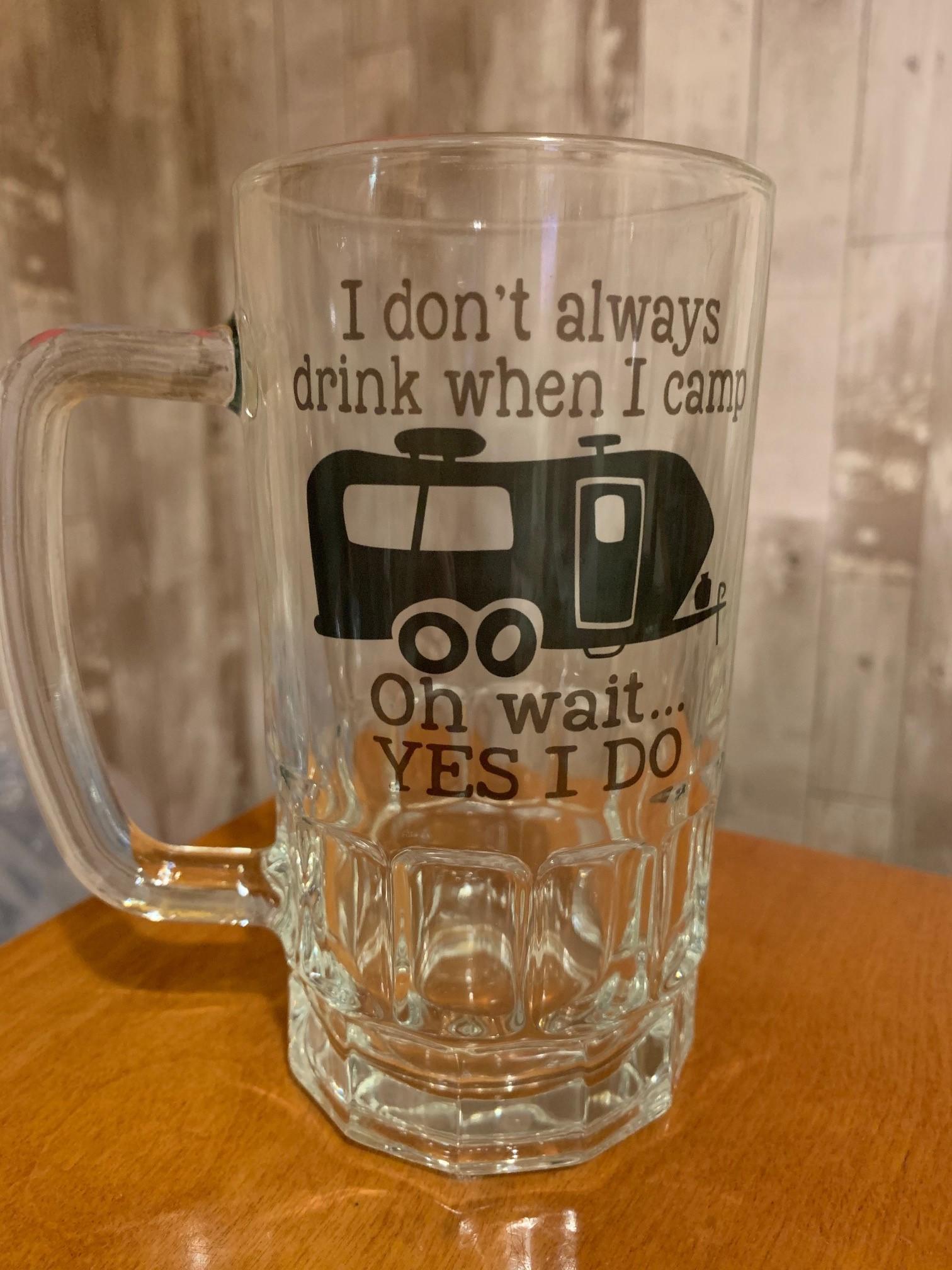 Laser Etched Beer Mugs