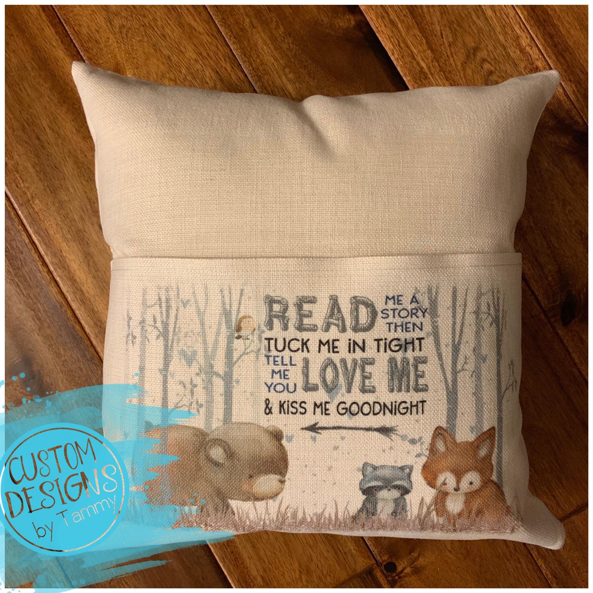 Teacher Pillow Friends Theme